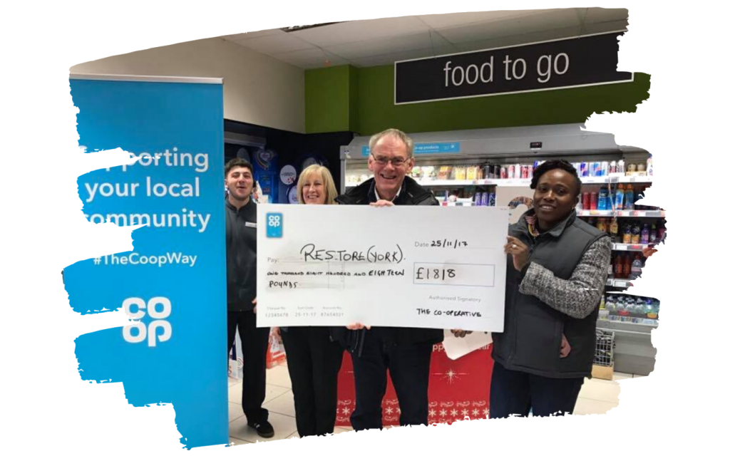 Co-Op Donation £1818