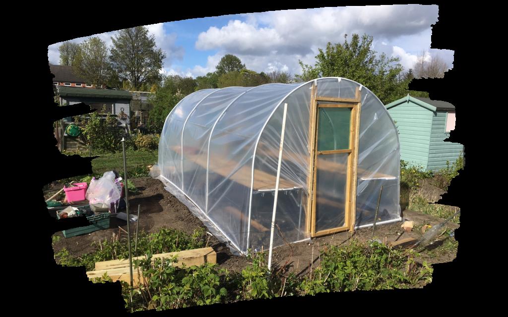 Garden Alotment Polytunnel